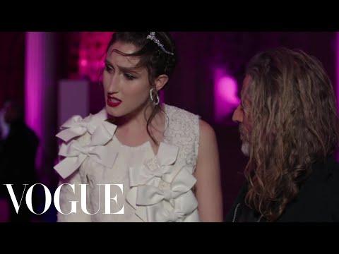 Model Anna Cleveland Shows Off Her Stunning Comme des Garcons Dress | Vogue