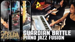 Guardian Battle Piano Cover Jazz Fusion Quartetガーディアン戦 Zelda Breath of the Wild (Melody Geeks)