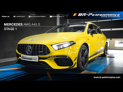 Mercedes-AMG A45 S / Stage 1 By BR-Performance