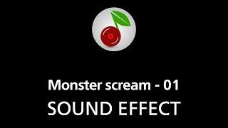 Monster scream - 01, SOUND EFFECT