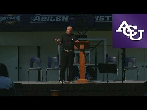 ACU Chapel with Randy Harris; February 6, 2017