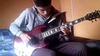 Pink Floyd Comfortably Numb Great Best Solo Cover David Gilmour - by Juanky Talca Chile