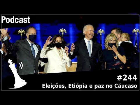 Xadrez Verbal Podcast #244 - Eleições, Etiópia e paz no Cáucaso
