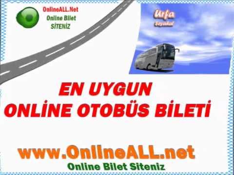 Urfa Seyahat Otobüs Bilet Fiyatları -İnternetten Bilet Al OnlineALL.net-Online Otobüs Biletleri