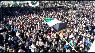 (01-24-2012) Khan Shaykhun | Idlib | Victory or martyrdom - Free Syria