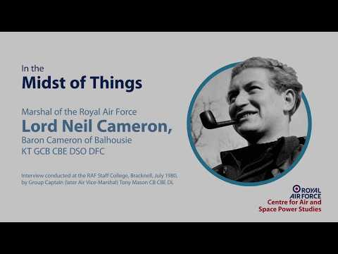 Lord Neil Cameron Baron Cameron of Balhousie interview