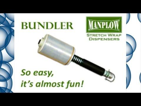 ManPlow SWD 35 Bundler Stretch Wrap Dispenser