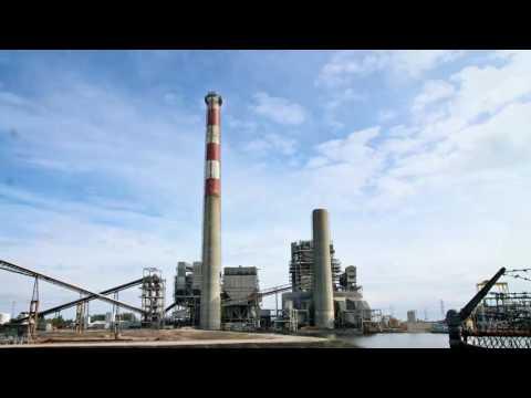 Timelapse Video of Duke Energy Sutton Plant Smokestack Demolition