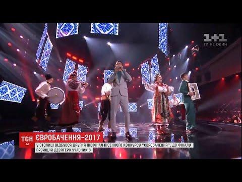 Другий півфінал Євробачення розпочали з виконання хітів конкурсу під український гопак