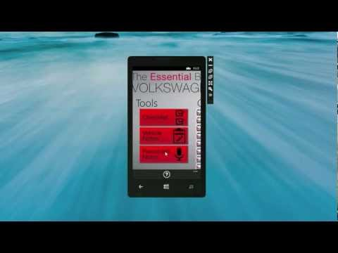 VW Bus - Essential Buyer's Guide Windows Phone app demo