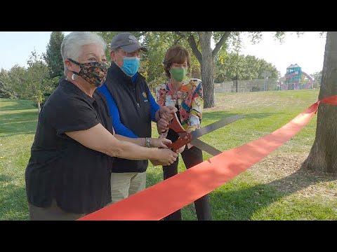 Eastside Park Improvements Ribbon Cutting