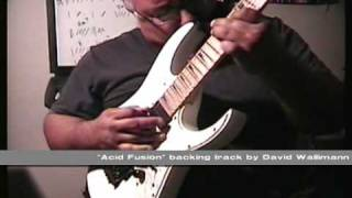 Acid Fusion backing track by David Walimann