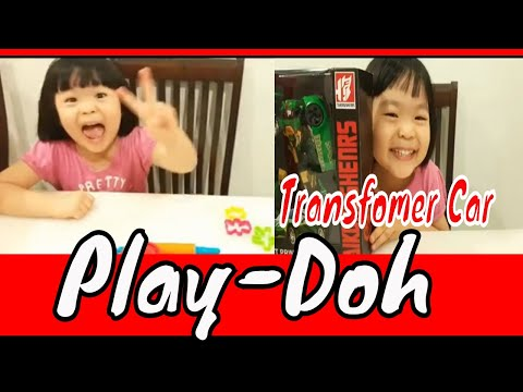 Download thumbnail for Play Car Play Doh,learning colours