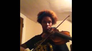 Violin cover portion of Beauty Song from House of Flying Daggers