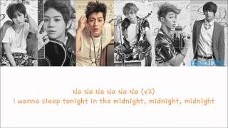 Beast - Midnight [Hangul/Romanization/English] Color & Picture Coded HD