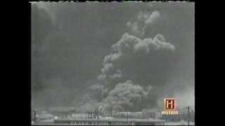 Rarely seen movie of Texas City, Texas Explosion - April 16, 1947