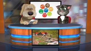 Talking Tom and Ben News: World Cleanup 2012