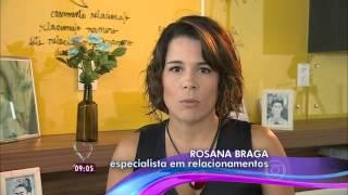 Rosana Braga no MAIS VOCÊ, com Ana Maria Braga - TV Globo