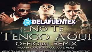 No Te Tengo Aqui Remix - Jomar Ft. Arcangel y Daddy Yankee [ © HoyMusic.Com ]  REGGAETON 2011