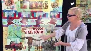 Teri Causey at Cottonwood Art Festival