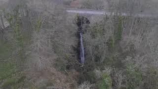 Den of Finella, Hidden Waterfall