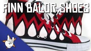 Finn Balor Shoes (WWE/NXT)