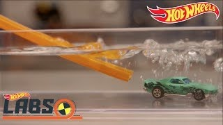 Wegversperring! | Hot Wheels Labs | Hot Wheels