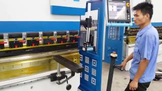 Accurl Press Brake 4 axis CNC | ECOPOWER Technology | Bending machines - Metal Working Machinery