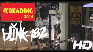 blink-182 - Down (Live at Reading 2014) Guitar Cover HD by SymonIero