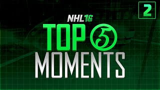 """NHL 16 - Top 5 Moments of the Week Episode 2 """"SAVE OF THE YEAR!?"""""""