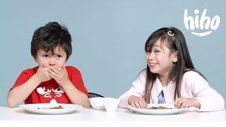Kids Try Indian Food | Kids Try | HiHo Kids width=