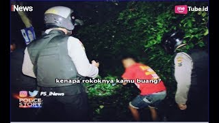 Ketahuan Buang Sampah Ke Semak, ABG Ini Dicegat Petugas Part 01   Police Story 08/04