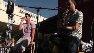 Timeflies Performs 'Ride' Live at the KDWB MN State Fair Booth