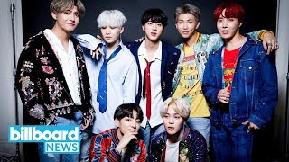 BTS Takes on Post Malone for No. 1 on the Billboard 200 Albums Chart | Billboard News