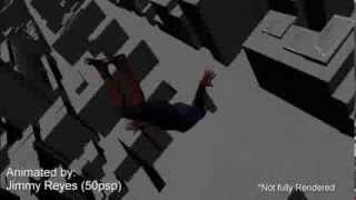Spiderman Web Swing 3D Animation Preview
