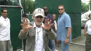 Steven Spielberg uses my video camera filming Indiana Jones crystal skull