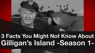 3 Facts You Might Not Know About Gilligan's Island -Season 1-