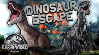 Jurassic World Dinosaur Escape - Official Lyric Video | Mattel Action!