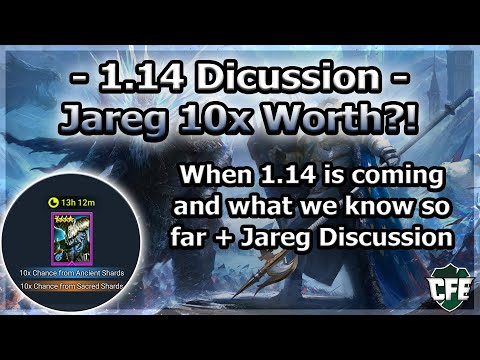 RAID Shadow Legends | 1.14 Discussion | Is Jareg 10x Event Worth It?!
