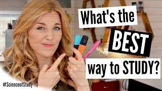 What's the BEST way to STUDY? | Science of Study #4 | Maddie Moate