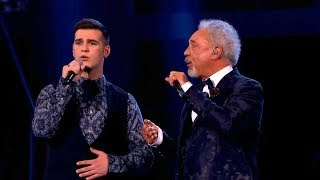 The Voice UK 2013 | Sir Tom and Mike Duet: 'Green, Green Grass Of Home' - The Live Final - BBC One
