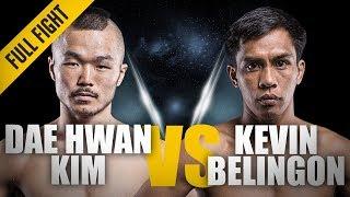 ONE: Full Fight | Dae Hwan Kim vs. Kevin Belingon | RNC Locked In Deep | March 2014 width=