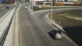 The Road On Which The Moving Cars - Stock Footage | VideoHive 14985838