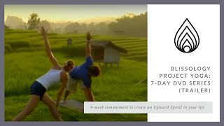 Blissology Project Yoga Trailer - 7 Day DVD Series by Eoin Finn