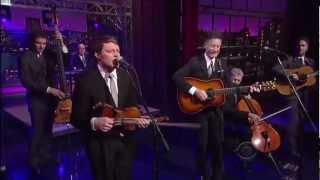 """Lyle Lovett -- """"White Freightliner Blues"""" 2 27 Letterman"""