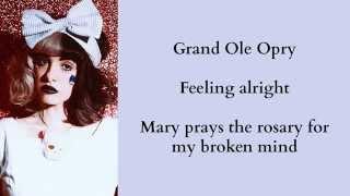 Melanie Martinez - Body Electric (Lana Del Rey Cover) +Lyrics
