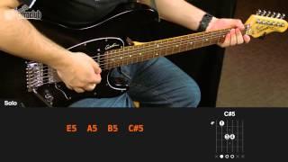 Videoaula The Final Countdown (aula de guitarra)