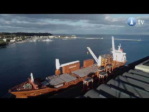 13 stradle carriers płynie z Gdyni do amerykańskiego portu