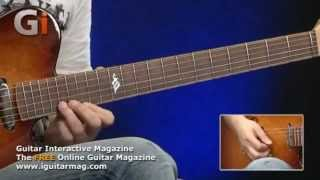 Richie Kotzen Masterclass Lesson Performance - Tom Quayle - Guitar Interactive Issue 14