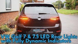 VW Golf 7 & 7.5 Matrix LED & Dynamic Indicator TailLight Retrofit